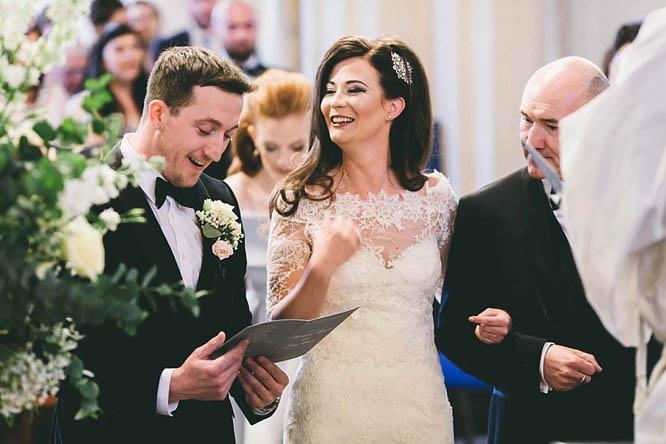 holy trinity church wedding photos