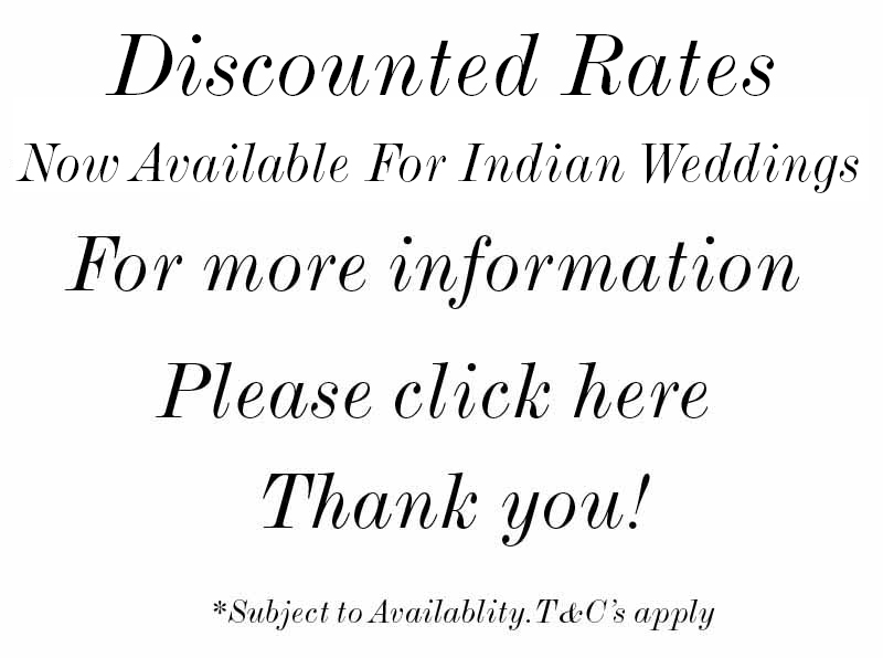 large indian wedding venues in uk