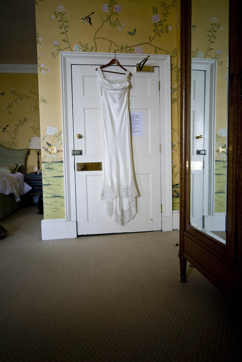 wedding dress hanger chandos house bridal suite