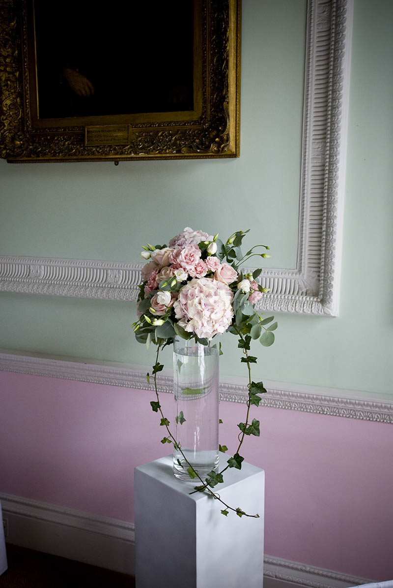 wedding vase chandos house