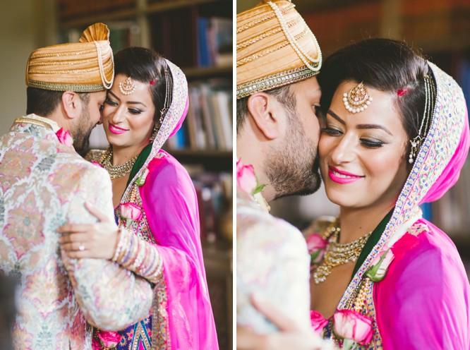 Wedding couple posing photography
