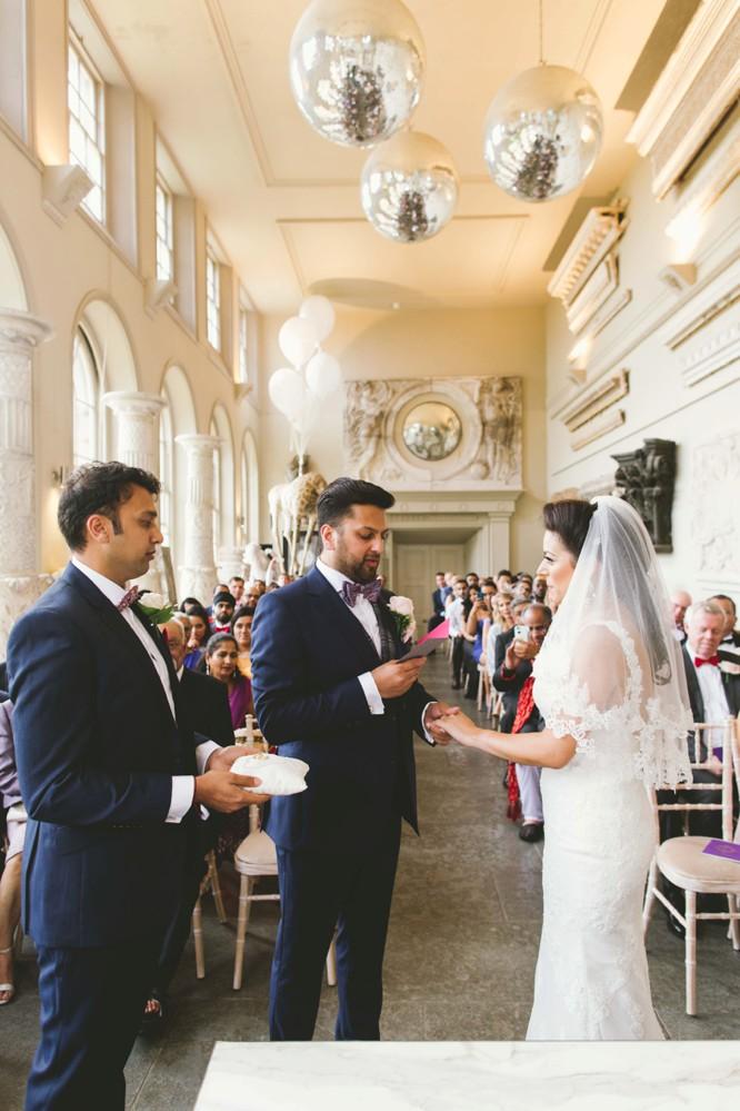 photo of indian wedding couple