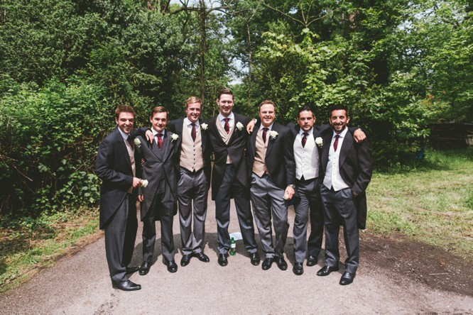 morning suits wiltshire wedding