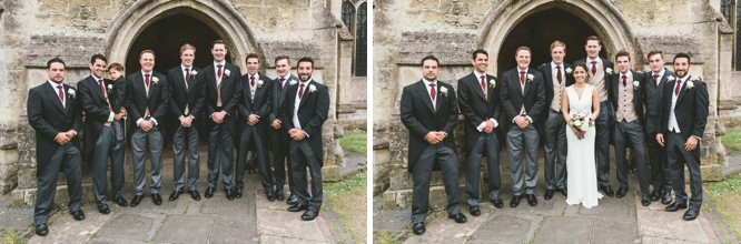 traditional wedding group shots