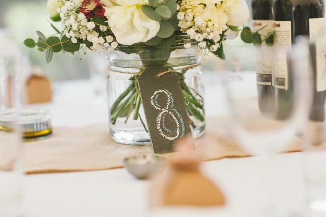blackboard wedding table ideas