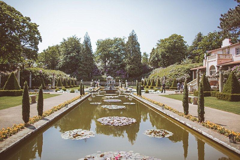 the italian villa gardens summer