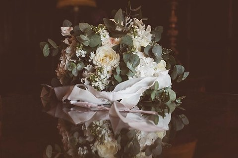 beautiful bouquet on a table
