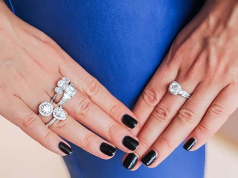 what does the shape of your engagement ring say about you