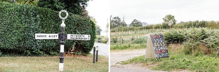 Jay Rowden creative modern wedding reportage photography walled garden cowdray