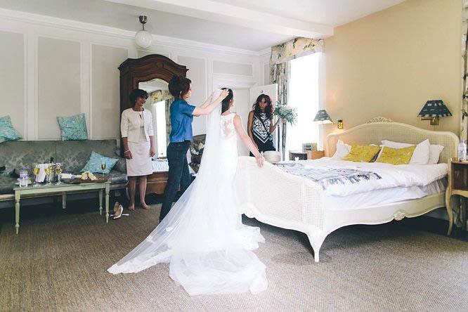 real wedding rectory crudwell