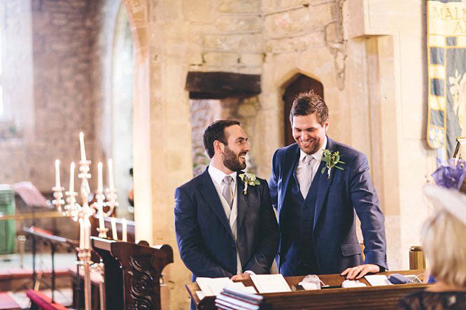 wedding at all saints church crudwell