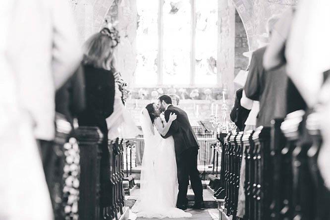 all saints crudwell wedding photograph