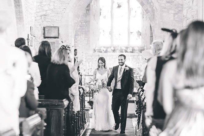 wedding photography at all saints crudwell