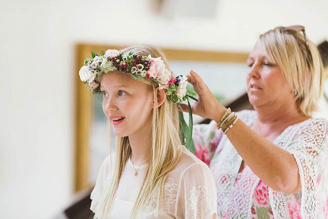 floral crown ideas