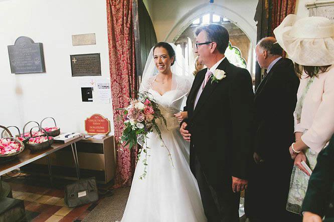 st mary the vrigin church wedding photos