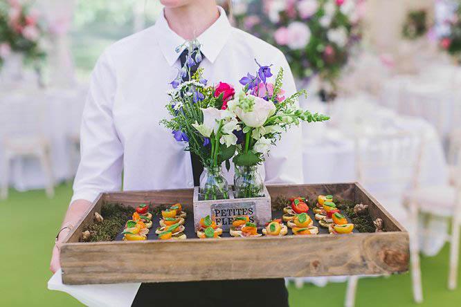 wedding petit fours