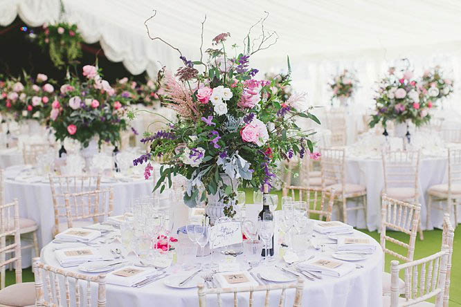 luxury wedding flowers buckinghamshire