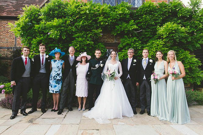 garden wedding photographs