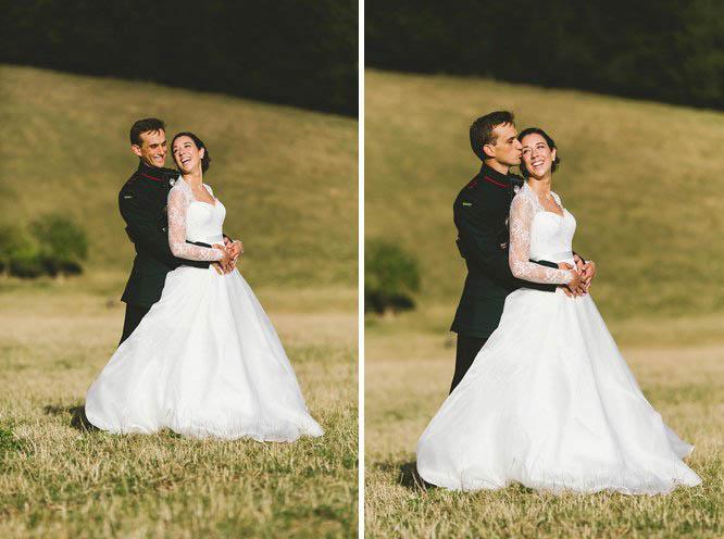 reportage military wedding photographer