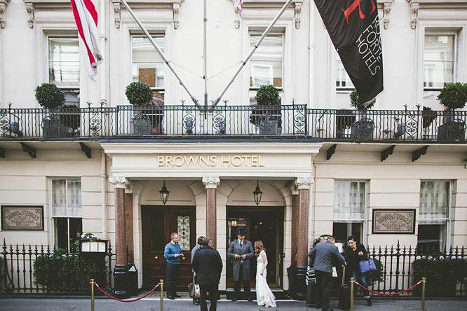 browns hotel london entrance