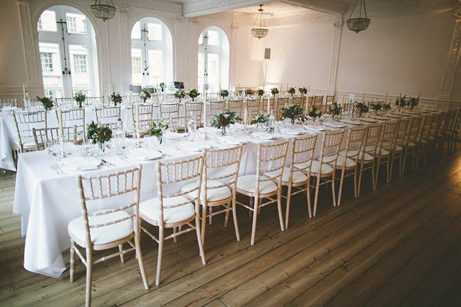 one horse guards wedding reception