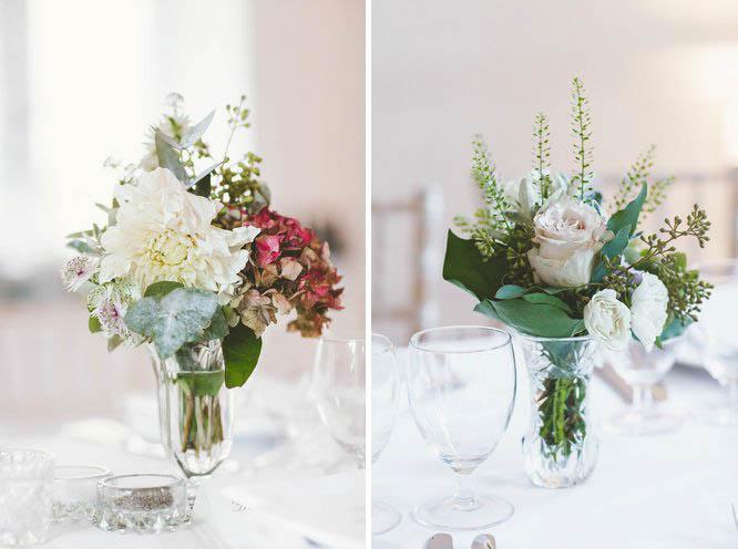 vintage wedding flower ideas