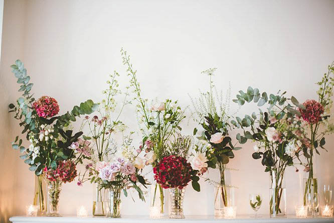boho wedding flowers london