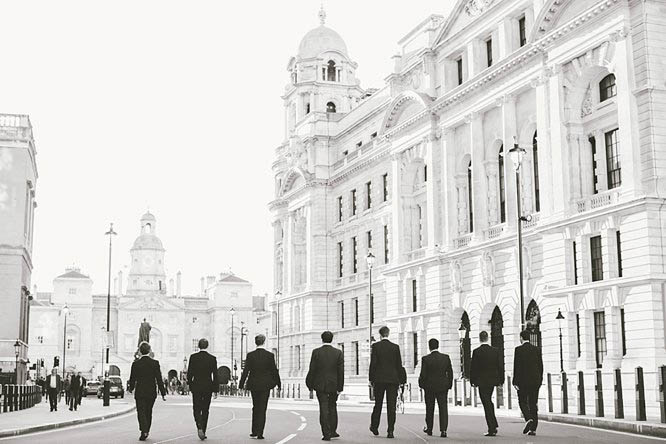 black and white wedding photos in london