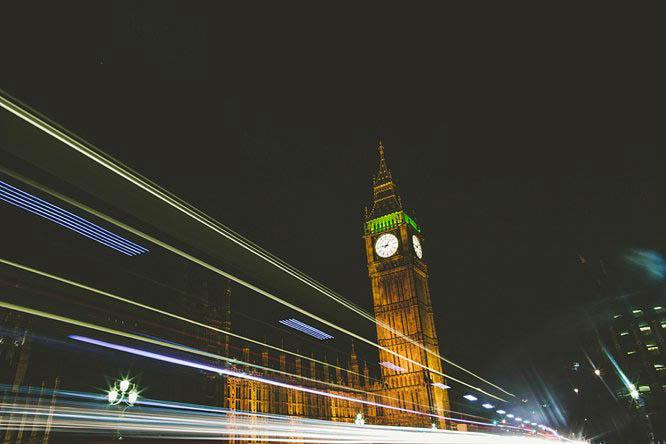 big ben in london night photo
