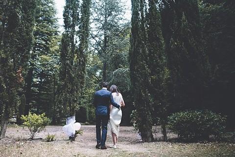 0168 Anouska & Duncan's Chateau de Riell wedding {Languedoc wedding photographer}