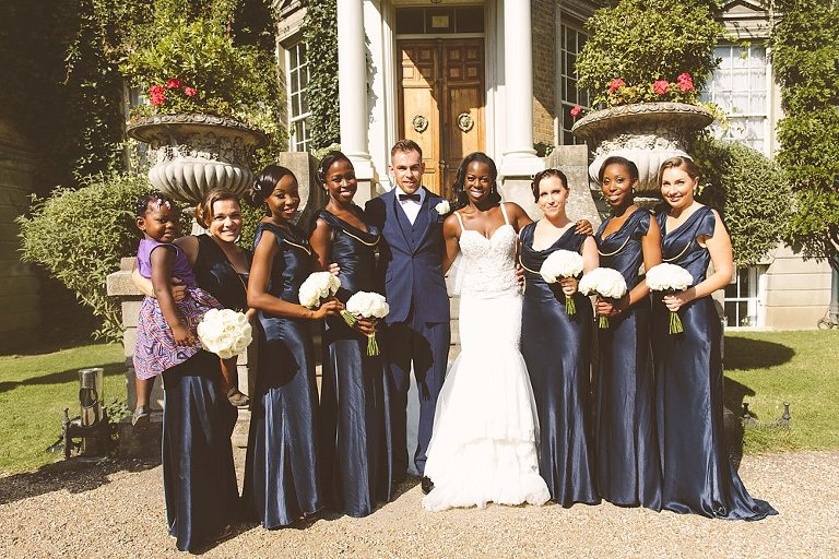 ghost bridesmaid dresses navy