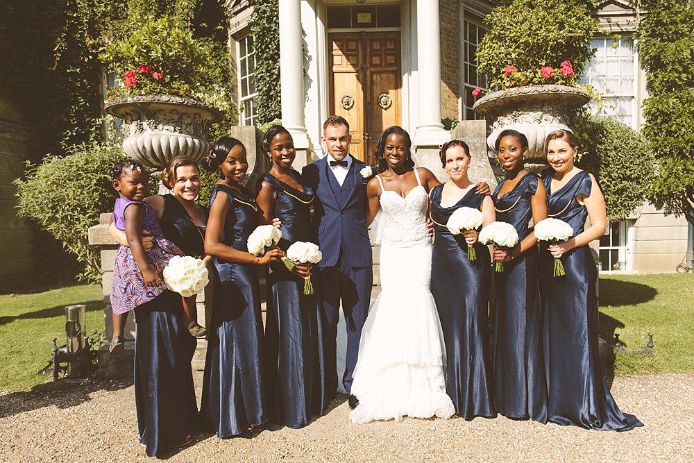 ghost bridesmaid dresses navy