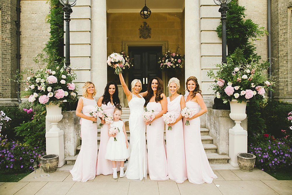 maids to measure pink full length
