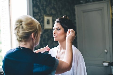 bridal make up chateau weddings