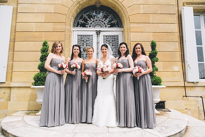 style me pretty brides and maids