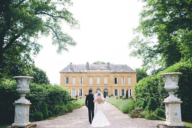 french chateau wedding dordogne chateau durantie