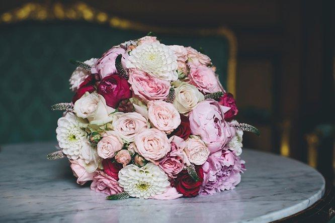 beautiful bridal bouquet florist chateau durantie