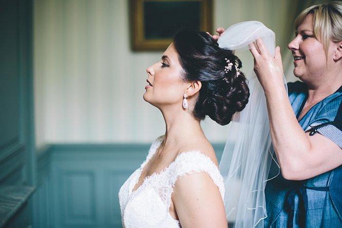 bridal preparations at french chateau dordogne