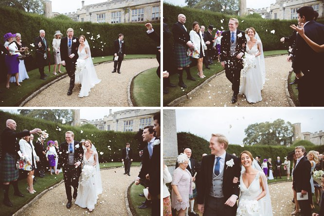 sudeley castle confetti photo