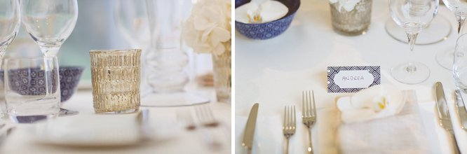 white wedding table ideas