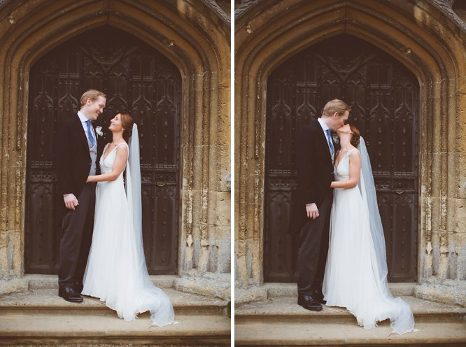 sudeley castle wedding photos with bride and groom
