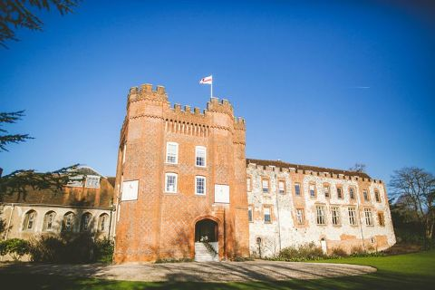 farnham castle wedding photograph