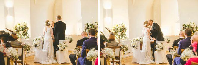 the lantern hall farnham castle wedding photography