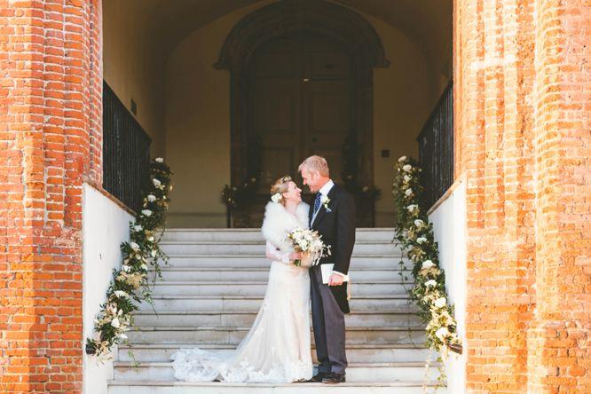 farnham castle winter wedding