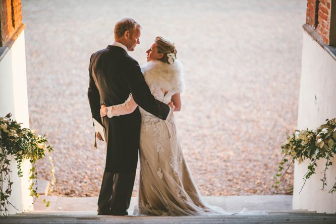 farnham castle winter wedding photos