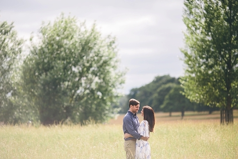 london engagement photograph