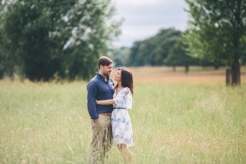 london engagement photographs