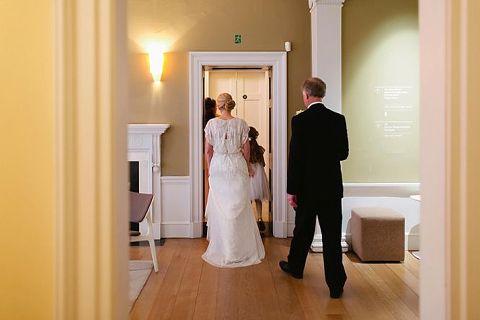 royal society arts wedding photo