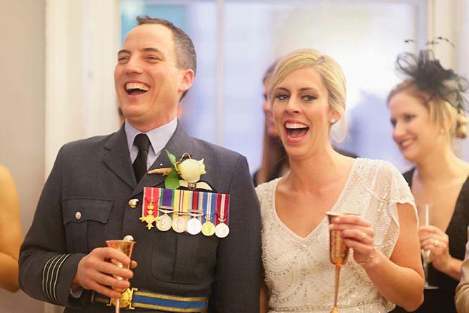 military wedding photos london
