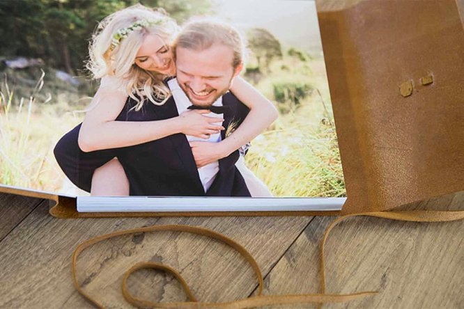 coffee table wedding albums